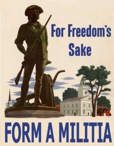 form a militia
