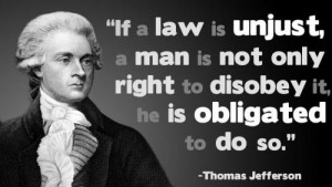 jefferson unjust