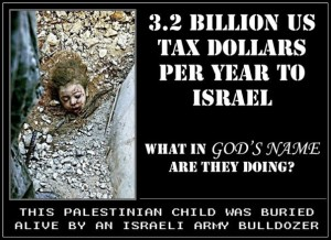tax dollars to israel