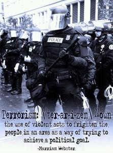 terrorism violent acts