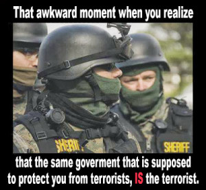 terrorists govt is