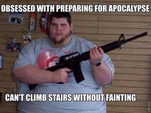 apocalypse fainting