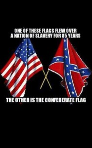 flag of slavery
