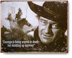 john wayne saddle up